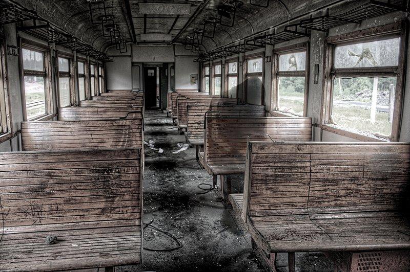 апокалипсис, вагон, пассажир, поезд, разруха, электричка passengerphoto preview