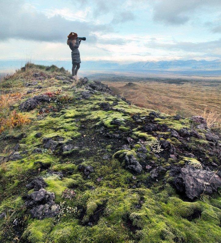 камчатка, вулкан, ключевской, камень, безымянный, извержение Невероятная Камчатка 2photo preview