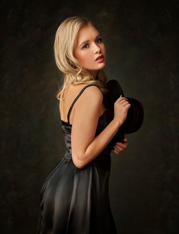 девушка, красивая, блондинка, волосы, красивый портрет, портрет, tanyasid, Кристинаphoto preview