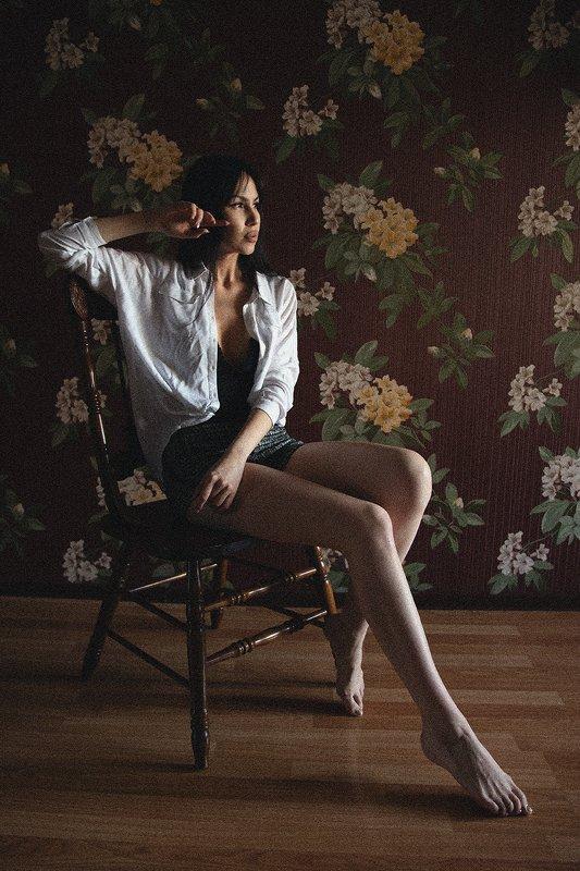модель, фотограф, портрет, девушка Эммаphoto preview