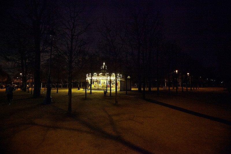 Ночная карусель… Тюлирьи. Париж. Францияphoto preview