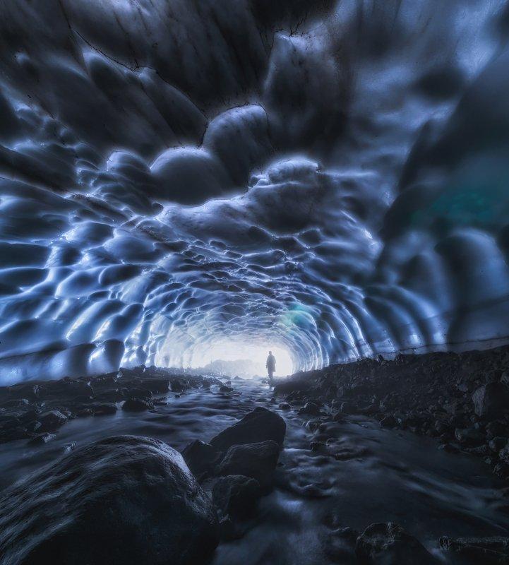 камчатка Снежный тоннель.photo preview