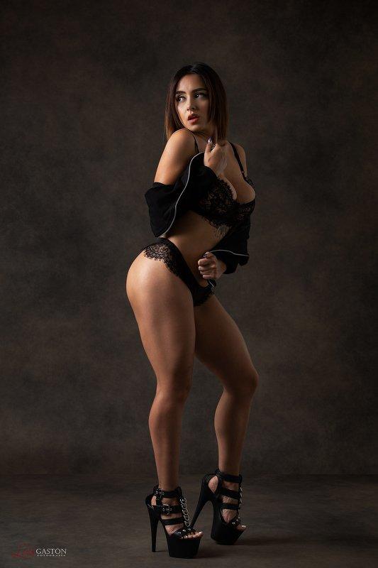 sexy, latín, lingerie, fitness, portrait, model Dulcephoto preview