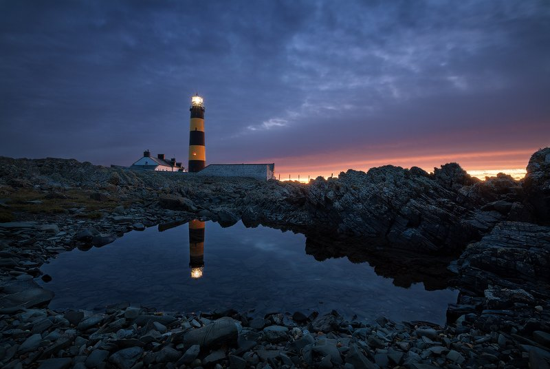 ireland, lighthouse ***photo preview
