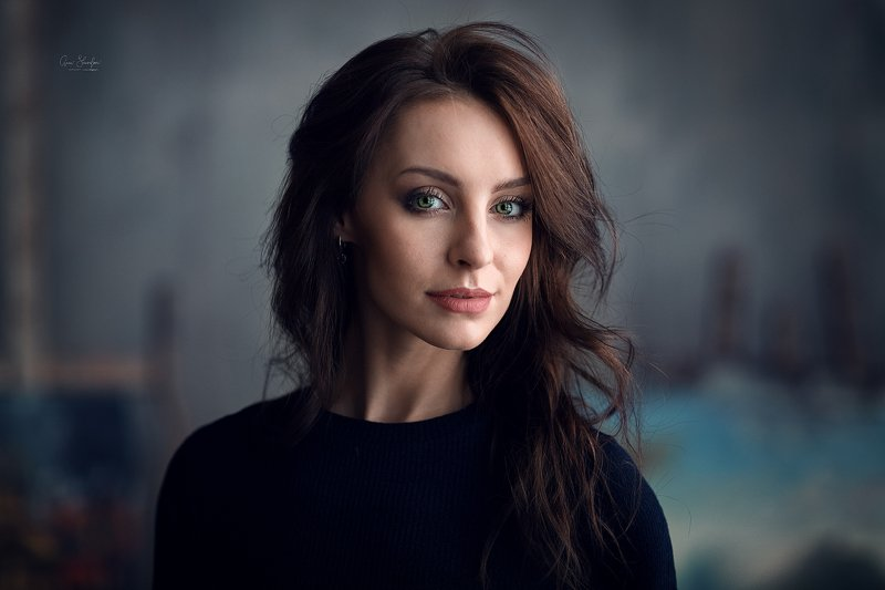 портрет красота девушка арт Настяphoto preview