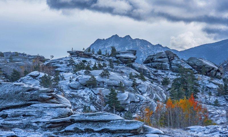горы Осень в горах Баянаула.photo preview