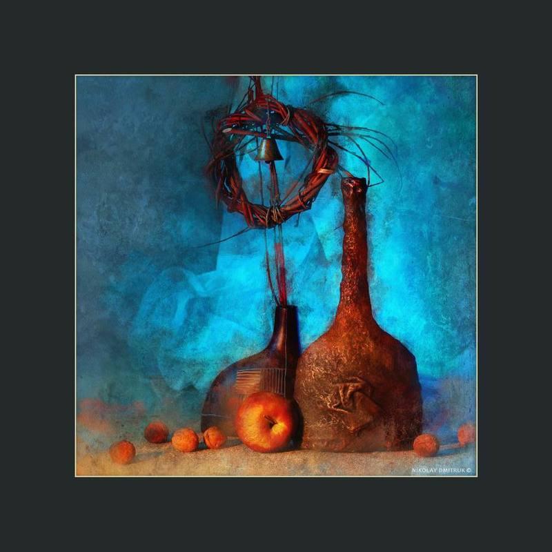 натюрморт колокольня. посвящаю Нотр-Дам-де-Париphoto preview