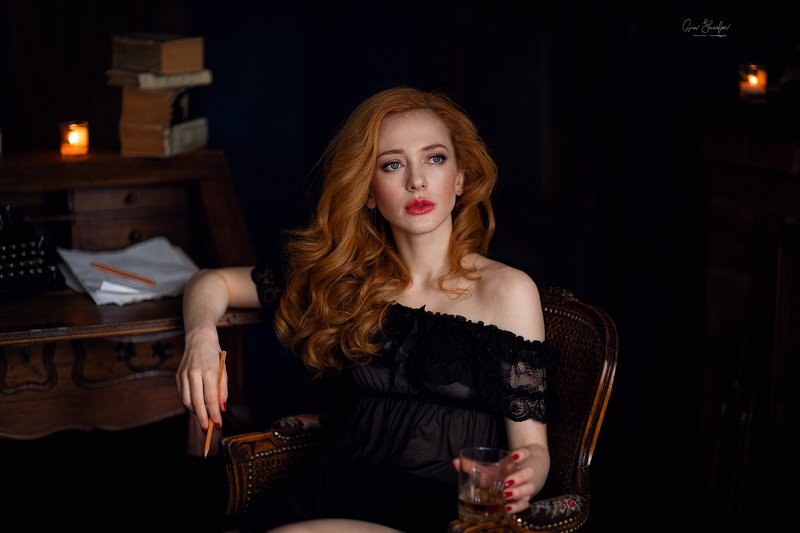 портрет красота девушка арт Катяphoto preview