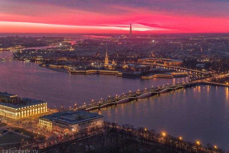 россия, петербург, санкт-петербург, весна, вечер, закат, дрон, квадрокоптер, река, нева Петропавловская крепостьphoto preview