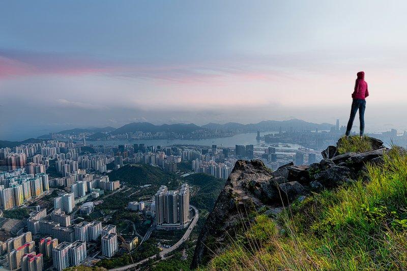 landscape  Kowloon Peakphoto preview
