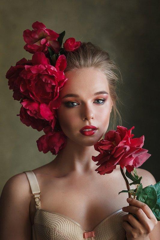 портрет, девушка, girl Ангелинаphoto preview