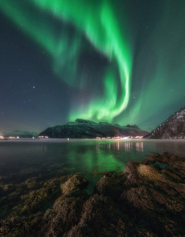 норвегия, лофотены Краски северного неба.photo preview
