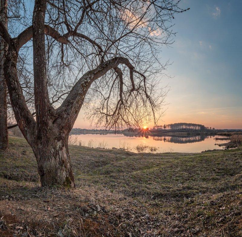 Вечер на Дичковском озере.photo preview