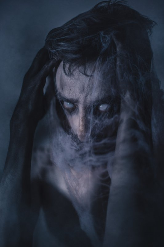 zamirasozieva, creepy, scary, zombie, portrait ITphoto preview