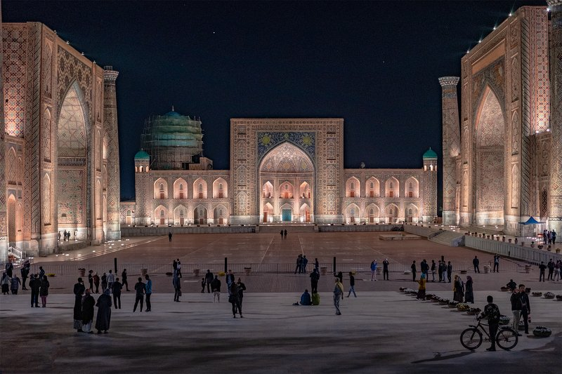 samarkand, uzbekistan, registan, madrasah, самарканд, узбекистан, регистан, медресе [registan]photo preview