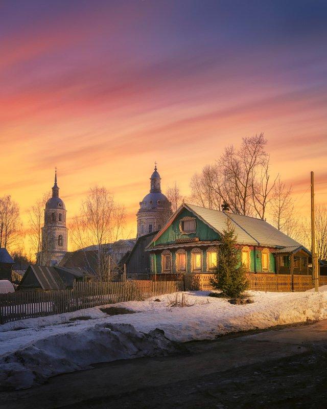 церковь, весна, апрель История одного вечераphoto preview
