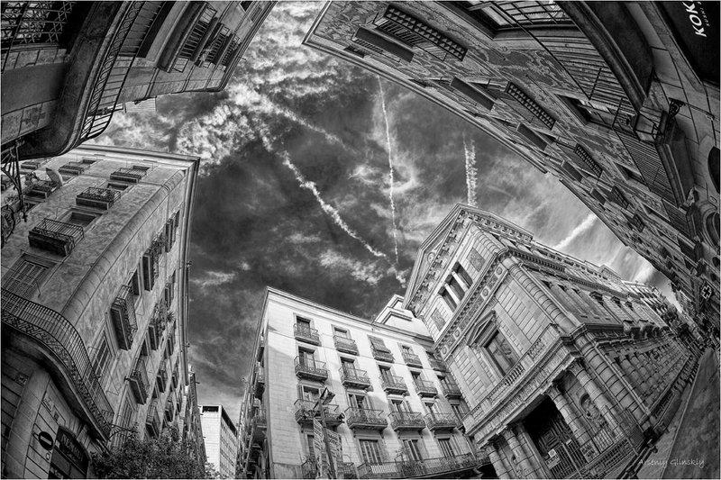 небо в городе Падение в высоту...photo preview