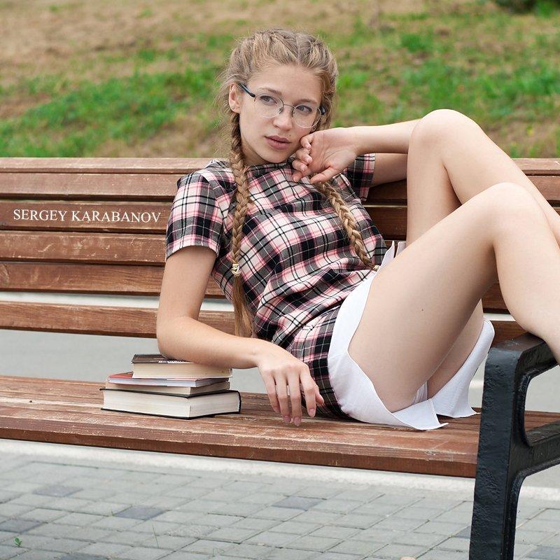 Nerd girl.photo preview
