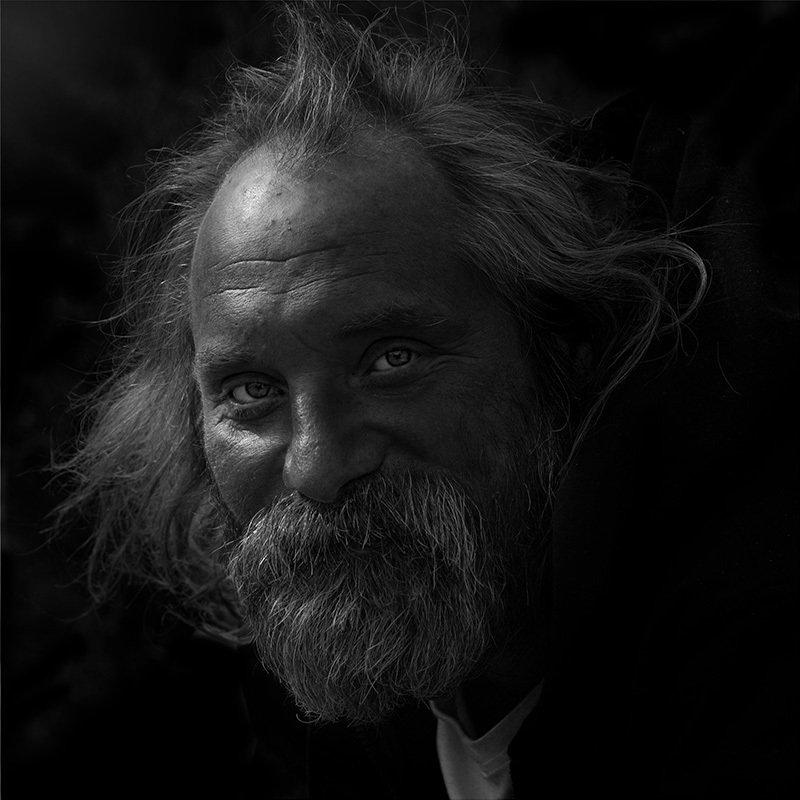 портрет, юрий_калинин, лица, черно_белое, юрец, уличная_фотография, люди позитивныйphoto preview