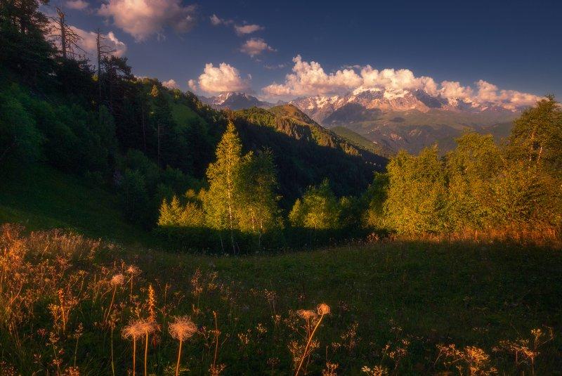 Вечер в горахphoto preview
