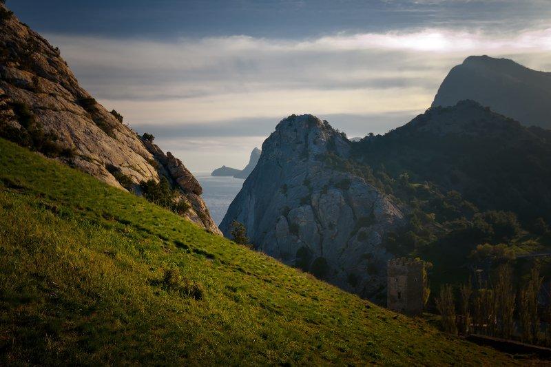 крым, природа, весна, горы, море Судакphoto preview