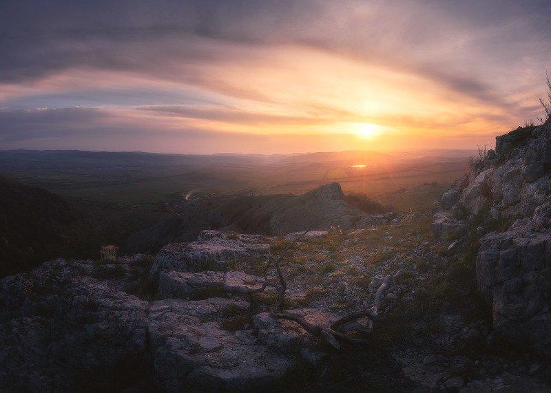 Закат в горах прекрасен!photo preview