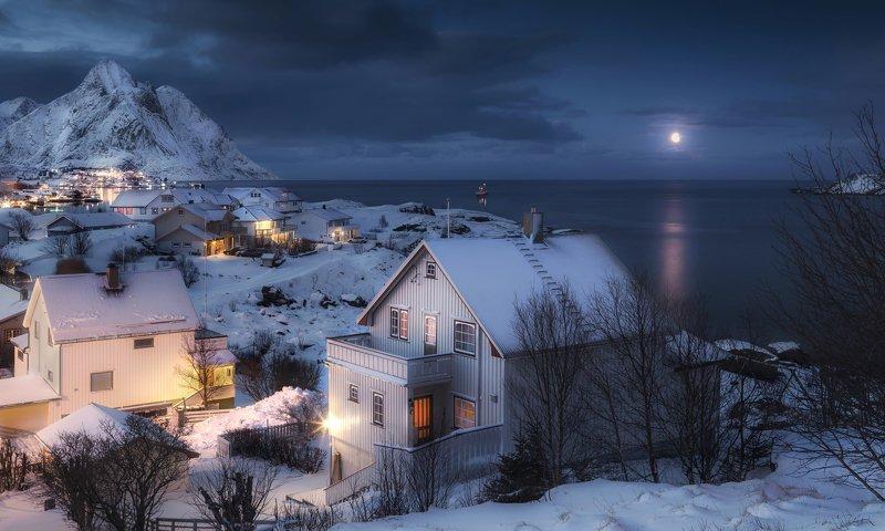 hamnoy , reine, lofoten islands, norway, morning, лофтены, норвегия, рейне, рассвет If you live in Lofotenphoto preview
