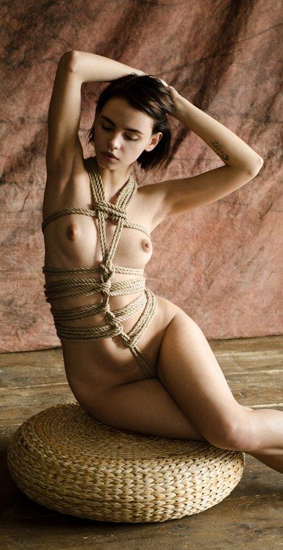 nude, portrait, eugenereno Kinbaku-biphoto preview