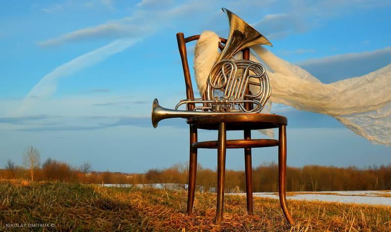 натюрморт ветер. музыки. вёсныphoto preview