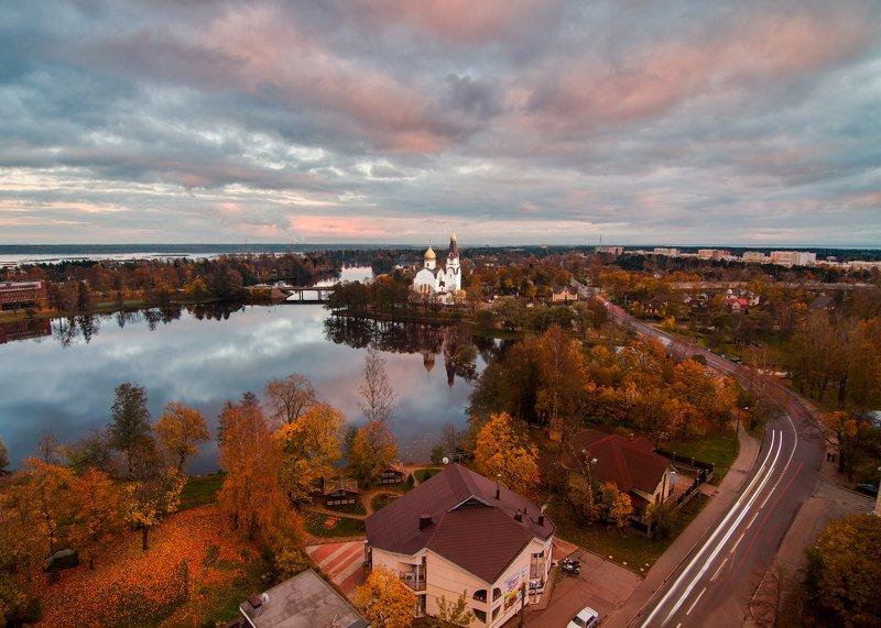 сестрорецк, россия, церковь, городской пейзаж Сестрорецкphoto preview