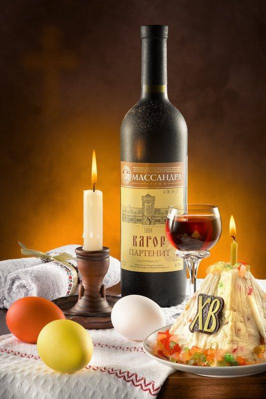пасха, православие, праздник, религия, свеча, кагор, яйца, христос воскресе Светлая Пасхаphoto preview