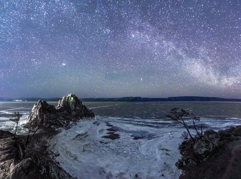 байкал звезды  Небо байкалаphoto preview