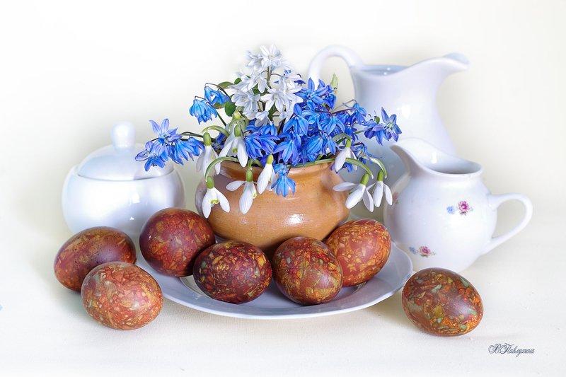 пасха ,пасхальные яйца, мраморный цвет, цветы ,весна,в.павлухина, Светлый праздник Пасхаphoto preview