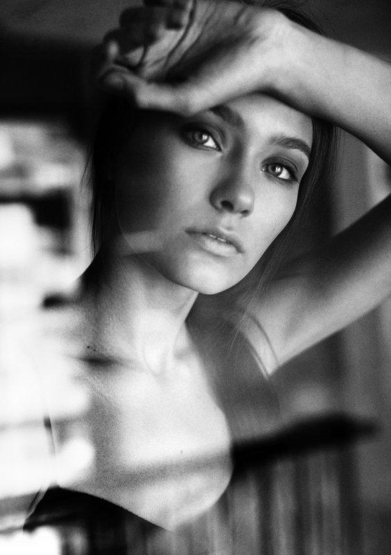 #girl, #beautiful, #девушка, #красота, #глаза #чбфото #чернобелое Аля в черно-белом.photo preview