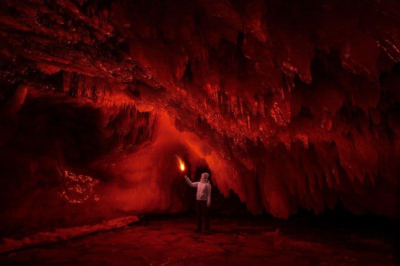 байкал пещера Исследовательphoto preview