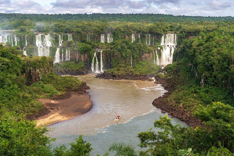 Водопады, Игуасу, Бразилия, Водопады Игуасу, Бразилияphoto preview
