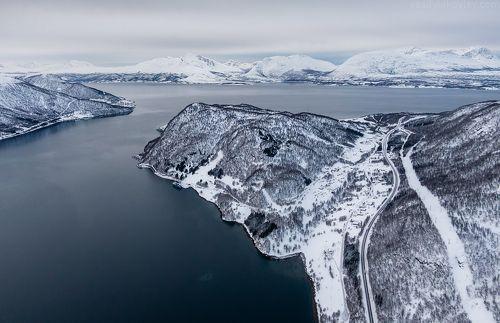 Пасмурный день в Норвегии