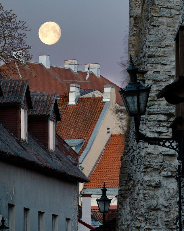 Таллин, город, пейзаж Фонариphoto preview