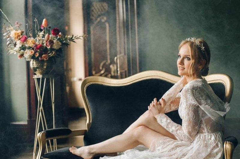 свадьба утро портрет девушка / Утро невесты /photo preview