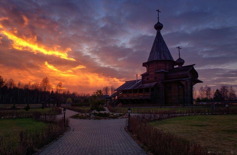 Свято-Владимирский мужской монастырь на истоке Днепра.photo preview