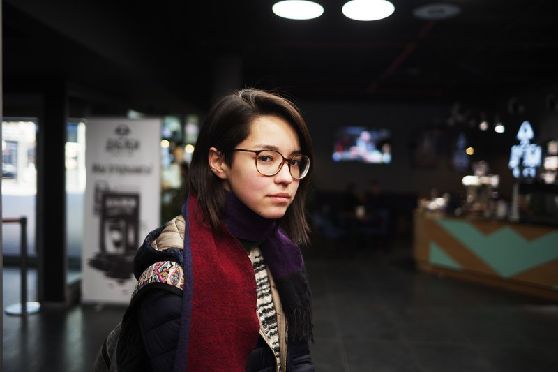girl, japanese, cinema ***photo preview