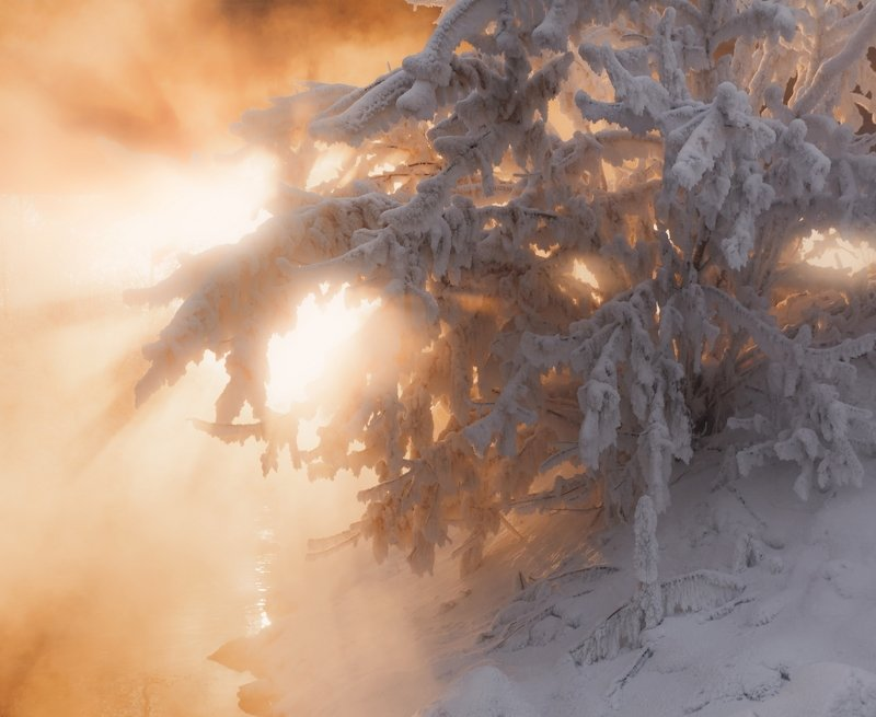 Январская стужа на р. Березовкаphoto preview