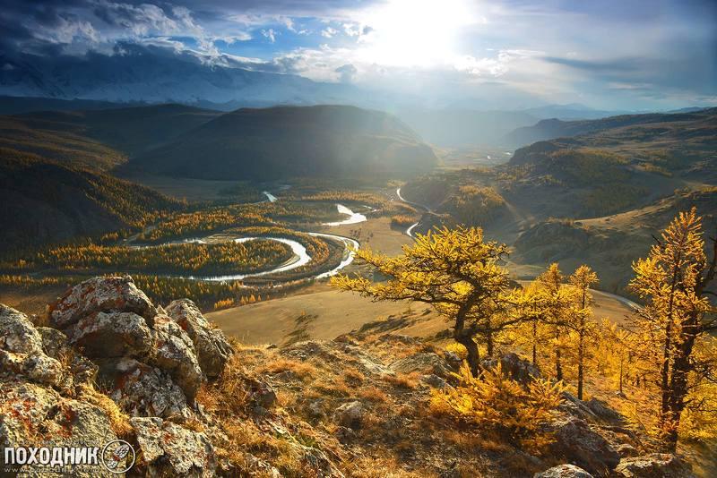 алтай, осень, пейзаж, фото-тур Вечер в Курайской степи. Горный Алтайphoto preview