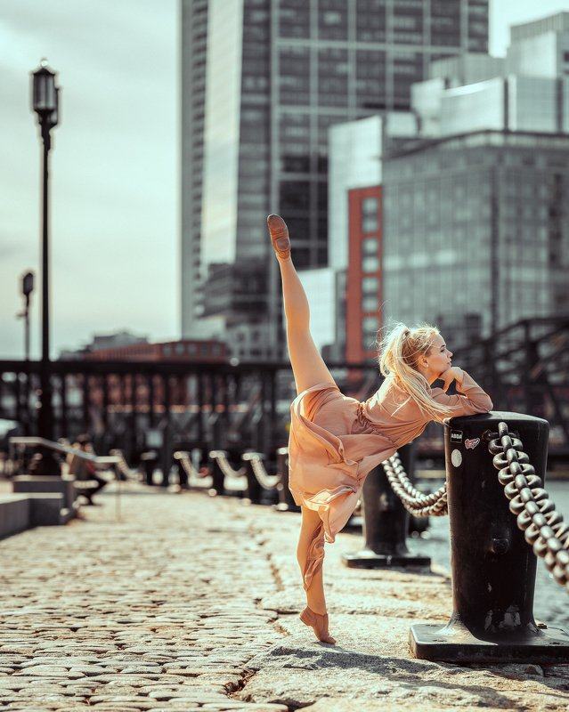 girl, dancer, model, woman, female, beautiful, city, boston Agnieszka in Bostonphoto preview