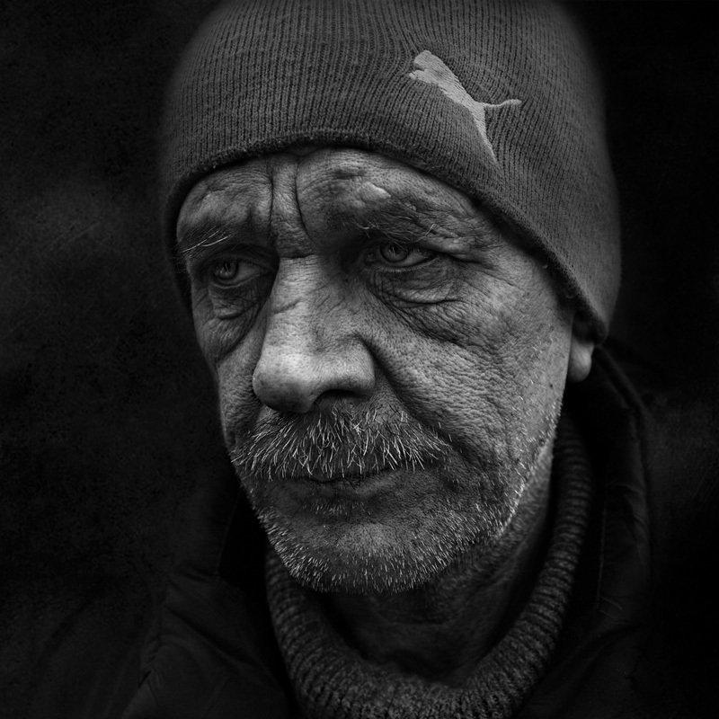 портрет, юрий_калинин, лица, черно_белое, юрец, уличная_фотография, люди Акелла промахнулсяphoto preview