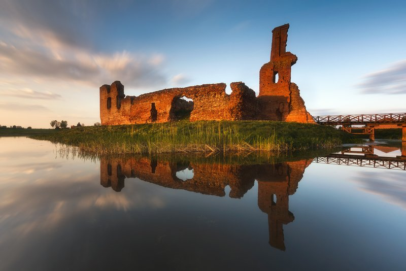 legend, ruins, castle, poland, mystery, besiekiery The Ruins of the Castle in Besiekiery IIIphoto preview