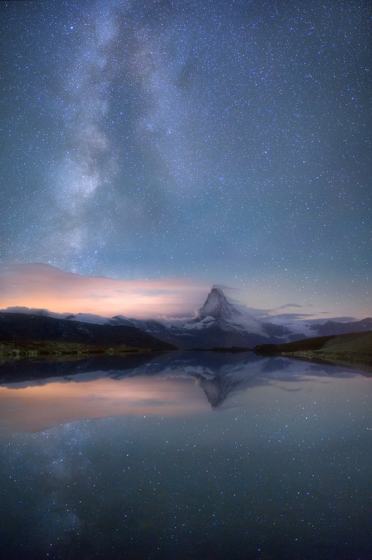 Звёздная ночь в Альпахphoto preview