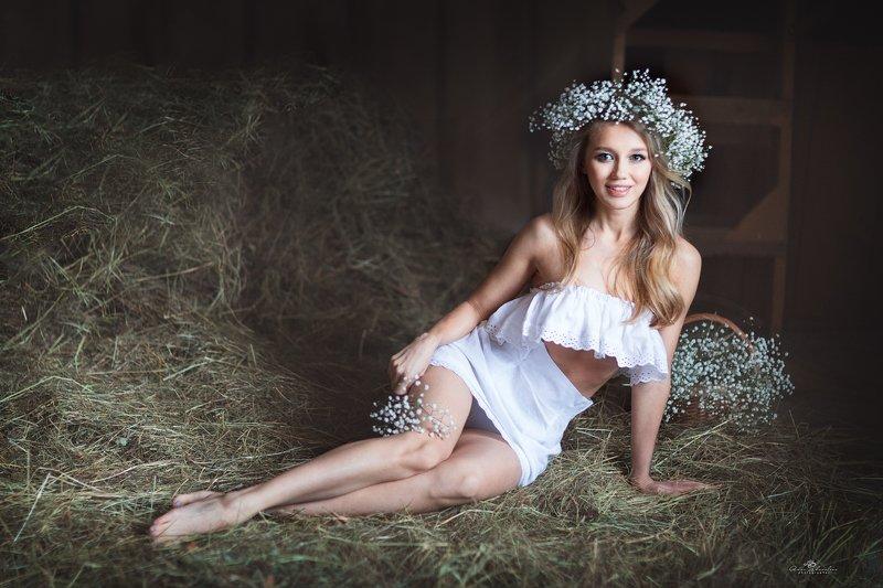 портрет красота девушка арт Марияphoto preview