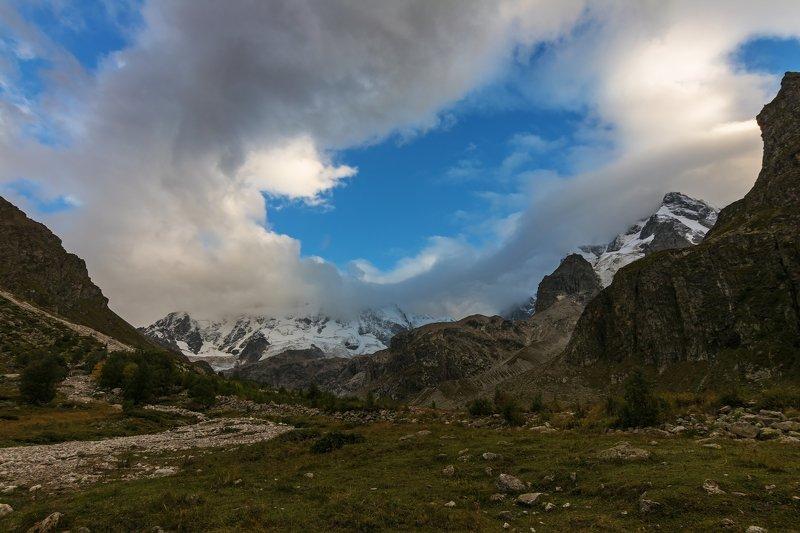 горы, облака, кавказ крылья небес...photo preview