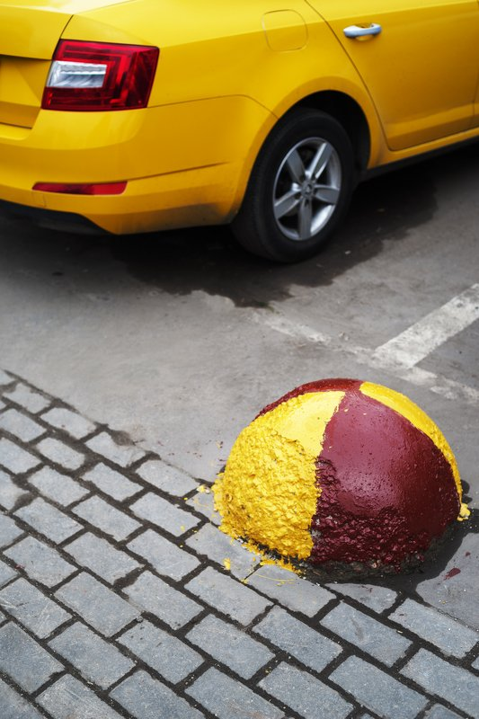 такси, жёлтый, улица Жёлтый этюд.photo preview